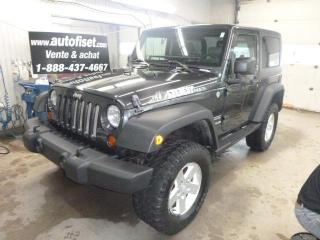 Used 2010 Jeep Wrangler 4WD 2dr Sport for sale in St-Raymond, QC