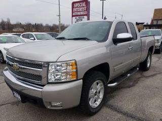 Used 2008 Chevrolet Silverado 1500 LT 4X4 !!  ALLOY WHEELS !!  POWER SEAT !! for sale in Cambridge, ON