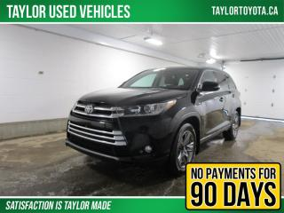 Used 2018 Toyota Highlander Limited Package LOADED! for sale in Regina, SK