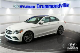 Used 2019 Mercedes-Benz C-Class C300 AMG + 4MATIC + GARANTIE + NAVI + TO for sale in Drummondville, QC