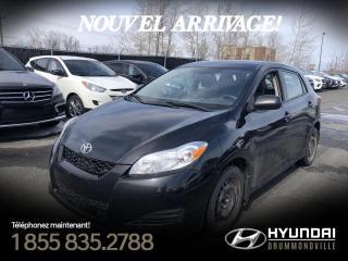 Used 2012 Toyota Matrix A/C + GARANTIE + CRUISE + BLUETOOTH + GR for sale in Drummondville, QC