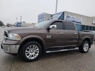 Used 2018 RAM 1500 Longhorn LONG HORN|NAVIGATION|CAMERA|LEATHER|CERFIED for sale in Concord, ON