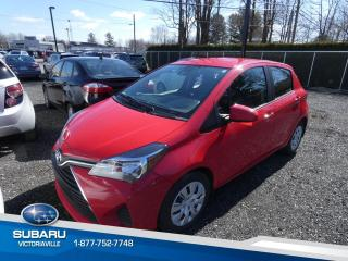 Used 2017 Toyota Yaris Hatchback Hayon 5 portes, LE for sale in Victoriaville, QC
