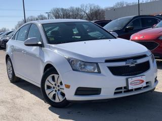 Used 2013 Chevrolet Cruze LT Turbo REVERSE CAMERA, TOUCH SCREEN for sale in Midland, ON
