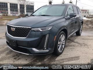 New 2020 Cadillac XT6 Premium Luxury - Navigation - $433 B/W for sale in Bolton, ON