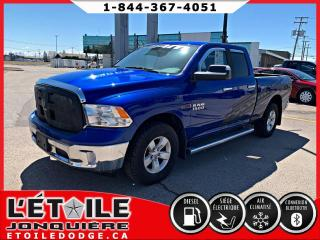Used 2018 RAM 1500 SLT QUADCAB DIESEL 4X4 for sale in Jonquière, QC