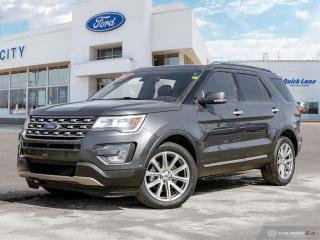 Used 2017 Ford Explorer LIMITED for sale in Winnipeg, MB