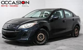 Used 2011 Mazda MAZDA3 GX for sale in Boisbriand, QC