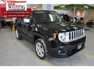 Used 2018 Jeep Renegade Limited for sale in Winnipeg, MB