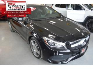 Used 2018 Mercedes-Benz CLA-Class 250 4MATIC Coupe for sale in Winnipeg, MB