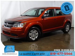 Used 2012 Dodge Journey |CVP/SE PLUS|GARANTIE|REGVIT|AIRCLIM|MIROIRCHAUF| for sale in Drummondville, QC