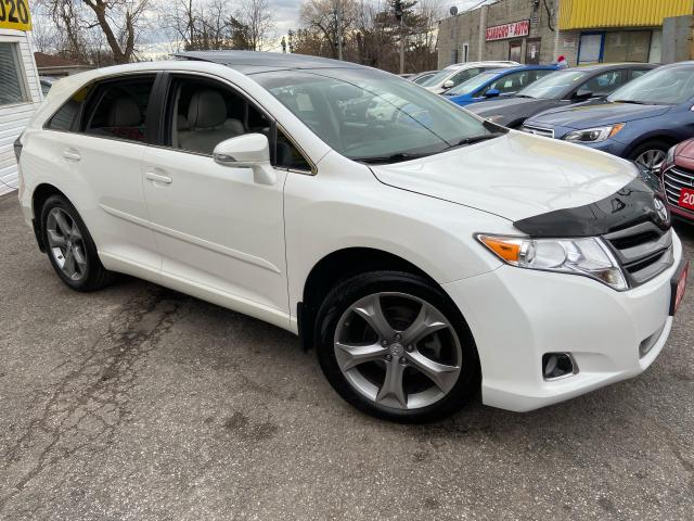 2014 Toyota Venza LEATHER/ SUNROOF/ REVERSE CAM/ ALLOYS/ TINTED ++
