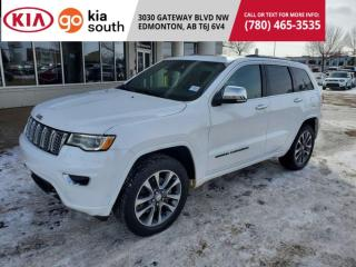Used 2017 Jeep Grand Cherokee 3 MNTHS NO PYMNTS Overland 4WD HEMI ADAPTIVE PANORAMIC LEATHER NAVIGATION for sale in Edmonton, AB