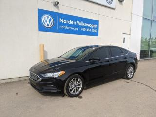 Used 2017 Ford Fusion SE - SUNROOF / ALLOYS / PUSH START for sale in Edmonton, AB