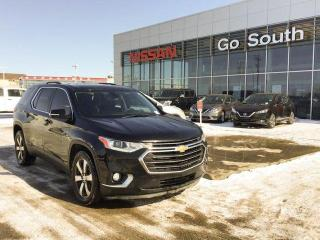 Used 2018 Chevrolet Traverse AWD, LEATHER, NAVIGATION, 7 PASSENGER for sale in Edmonton, AB