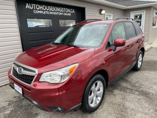 Used 2014 Subaru Forester i Convenience for sale in Kingston, ON