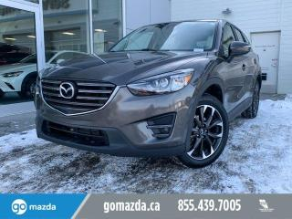 Used 2016 Mazda CX-5 GT - LEATHER, NAV, BOSE SOUND SYSTEM, BLIND SPOT MONITORING for sale in Edmonton, AB
