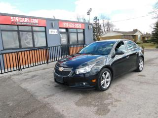Used 2012 Chevrolet Cruze LTZ Turbo w/1SA|LEATHER|SUNROOF|BLUETOOTH for sale in St. Thomas, ON