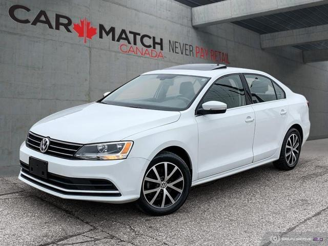 2016 Volkswagen Jetta COMFORTLINE / NO ACCIDENTS / SUNROOF