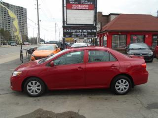 Used 2013 Toyota Corolla CE/ BLUETOOTH / HEATED SEATS / SUN ROOF /CERTIFIED for sale in Scarborough, ON