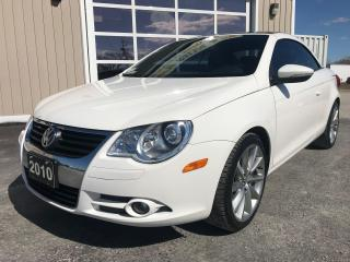 Used 2010 Volkswagen Eos Comfortline for sale in Tilbury, ON