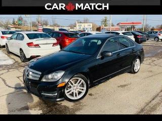 Used 2013 Mercedes-Benz C-Class C 300 / NAVIGATION / SUNROOF for sale in Cambridge, ON