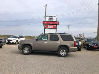 Used 2007 Chevrolet Tahoe LT for sale in Headingley, MB