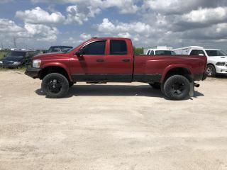Used 2007 Dodge Ram 3500 SLT for sale in Headingley, MB