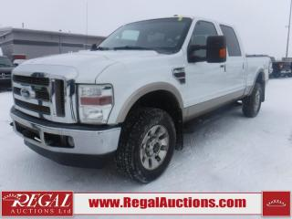 Used 2010 Ford F-350 SD LARIAT 4D CREW CAB 4WD for sale in Calgary, AB