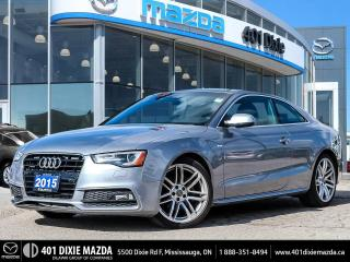 Used 2015 Audi A5 2.0T NO ACCIDENTS|SUNROOF|LEATHER INTERIOR for sale in Mississauga, ON