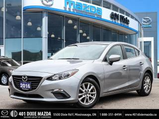 Used 2016 Mazda MAZDA3 GS NO ACCIDENTS | 1.99% FINANCING AVAILABLE for sale in Mississauga, ON