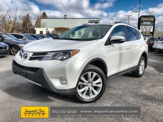 Used 2015 Toyota RAV4 Limited LEATHER  ROOF  NAVI  HEATED SEATS  BACKUP for sale in Ottawa, ON