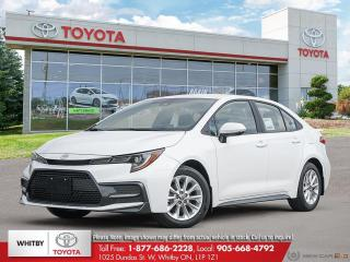 New 2020 Toyota Corolla SE CVT FC20 for sale in Whitby, ON