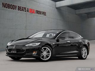 Used 2013 Tesla Model S 85 NEW Tires, Sub Zero, Sunroof, Pwr Hatch, EV for sale in Mississauga, ON