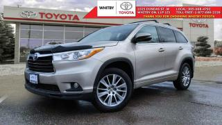 Used 2015 Toyota Highlander XLE AWD XLE for sale in Whitby, ON