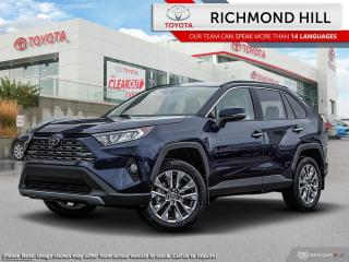 New 2020 Toyota RAV4 Limited  - Leather Seats -  Sunroof - $138.18 /Wk for sale in Richmond Hill, ON