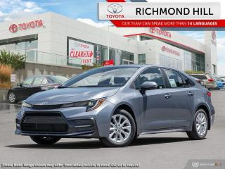 New 2020 Toyota Corolla SE  -  Sporty Styling -  Aerodynamics - $74.69 /Wk for sale in Richmond Hill, ON