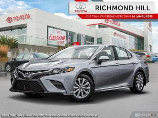 New 2020 Toyota Camry SE Upgrade  - Sunroof -  Navigation for sale in Richmond Hill, ON