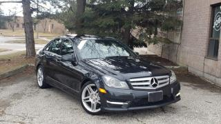 Used 2013 Mercedes-Benz C-Class 4dr Sdn C350 4MATIC for sale in Brampton, ON
