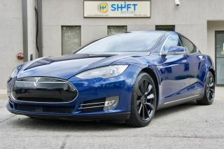Used 2015 Tesla Model S 70D AUTOPILOT, TESLA CPO WARRANTY, REAR FACING SEATS!! for sale in Burlington, ON