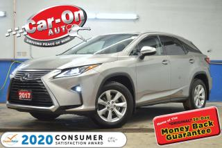 Used 2017 Lexus RX 350 AWD LEATHER SUNROOF REAR CAM ADAPTIVE CRUISE HTD S for sale in Ottawa, ON