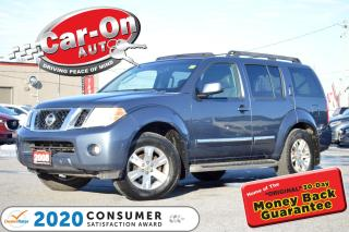 Used 2008 Nissan Pathfinder LE 4X4 7 SEAT LEATHER SUNROOF REAR CAM HTD SEATS for sale in Ottawa, ON
