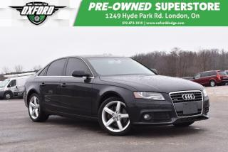 Used 2011 Audi A4 2.0T Premium (Tiptronic) - Well Maintained, Clean for sale in London, ON