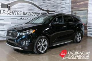 Used 2017 Kia Sorento SX Turbo+TOIT/PANO+GPS+CAM/REC+CUIR+GR/ELECT+MAGS+ for sale in Laval, QC