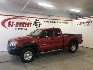 Used 2015 Toyota Tacoma 4WD Access Cab V6 Auto for sale in St-Hubert, QC