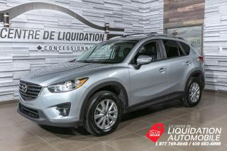 Used 2016 Mazda CX-5 GS+AWD+CUIR+TOI/OUV+MAGS+CAM/REC+BLUETOOTH for sale in Laval, QC