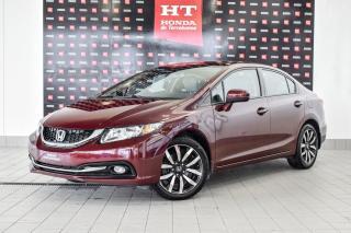 Used 2015 Honda Civic Touring Bas Kilo certifié for sale in Terrebonne, QC