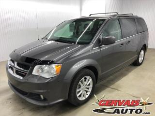 Used 2018 Dodge Grand Caravan SXT Premium Plus 7 PASSAGERS MAGS CUIR/TISSUS for sale in Shawinigan, QC