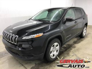 Used 2015 Jeep Cherokee Sport V6 4x4 CAMÉRA BLUETOOTH SIÈGES/VOLANT CHAUFFANTS *Ensemble Temps Froid* for sale in Shawinigan, QC