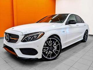 Used 2018 Mercedes-Benz C-Class AMG AMG C 43 BI TURBO 4MATIC NAV *TOIT PANORAMIQUE* for sale in St-Jérôme, QC